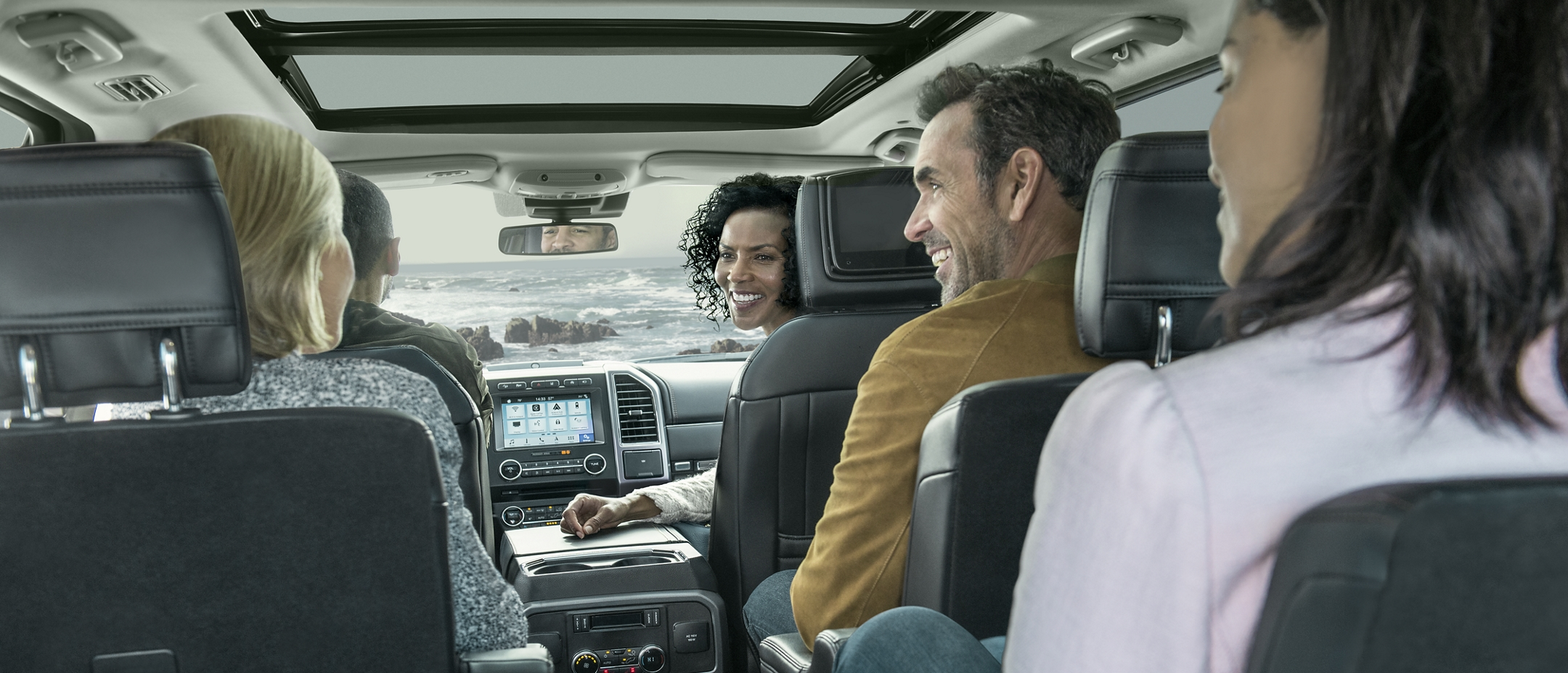 2019 Ford Expedition Seating