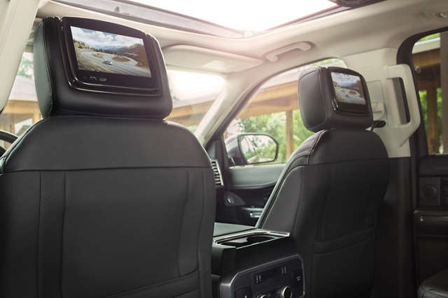 Dual Headrest Rear Seat Entertainment System