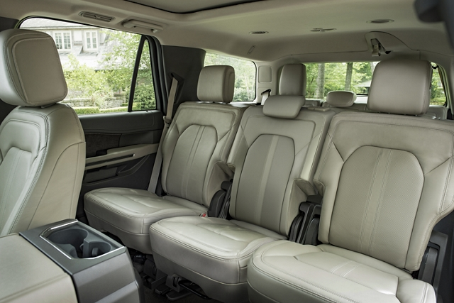 2019 Ford Expedition third row seating