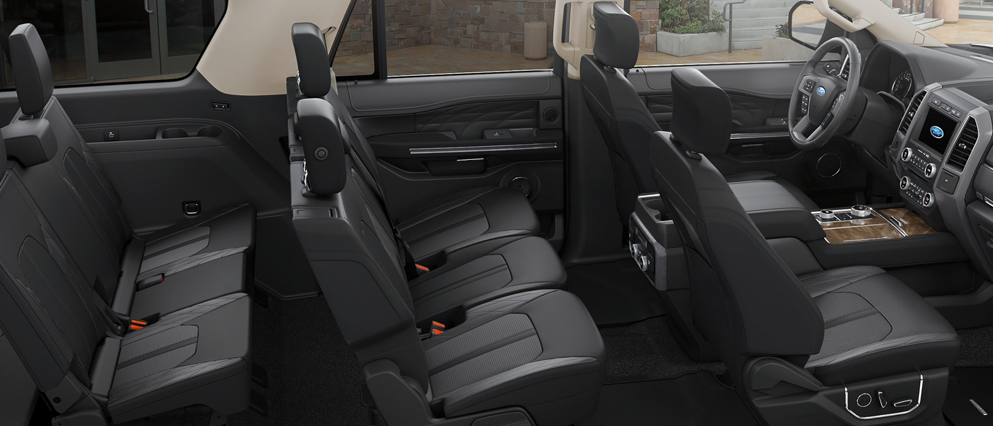 2019 Expedition interior