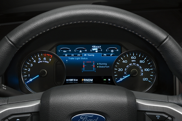 2020 Ford F 1 50 eight inch L C D productivity screen