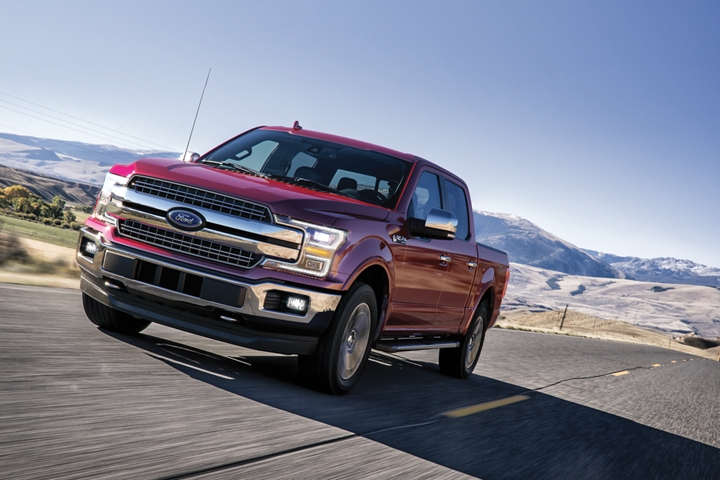 2020 Ford F 1 50 travelling on remote highway location