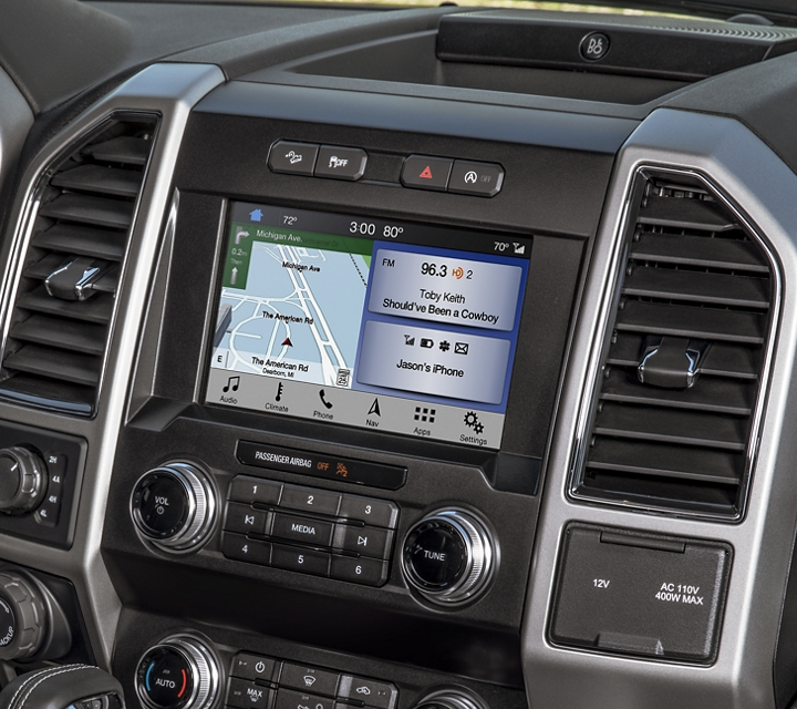 2020 Ford F 1 50 Interior Centre Console and Climate Controls