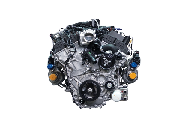 3 point 5 litre high output turbocharged EcoBoost engine