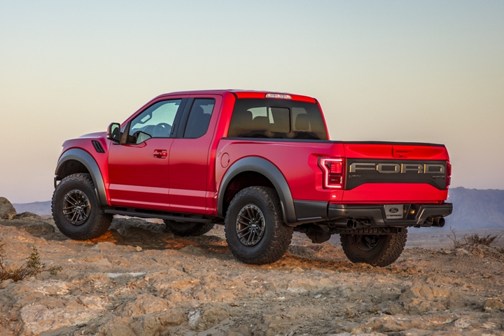2020 Ford F 1 50 Raptor with available beadlock capable wheels