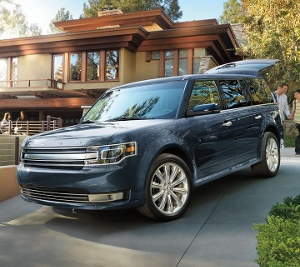 2018 Ford Flex with rear liftgate open