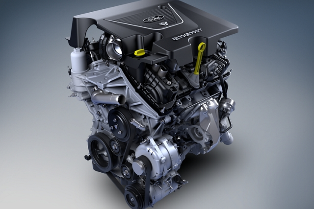 Three available ecoboost engines