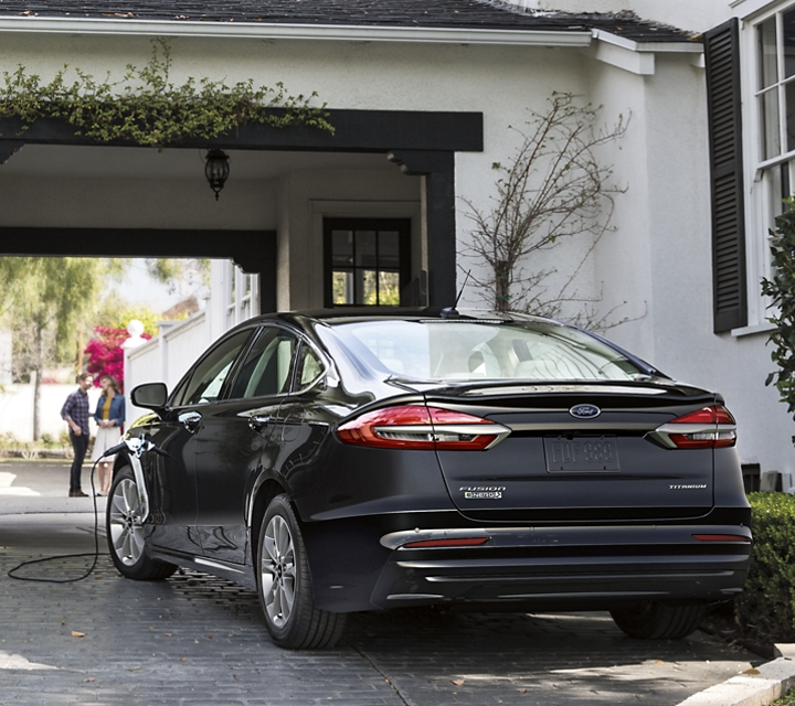 2020 Ford Fusion with S E Appearance package shown with spoiler
