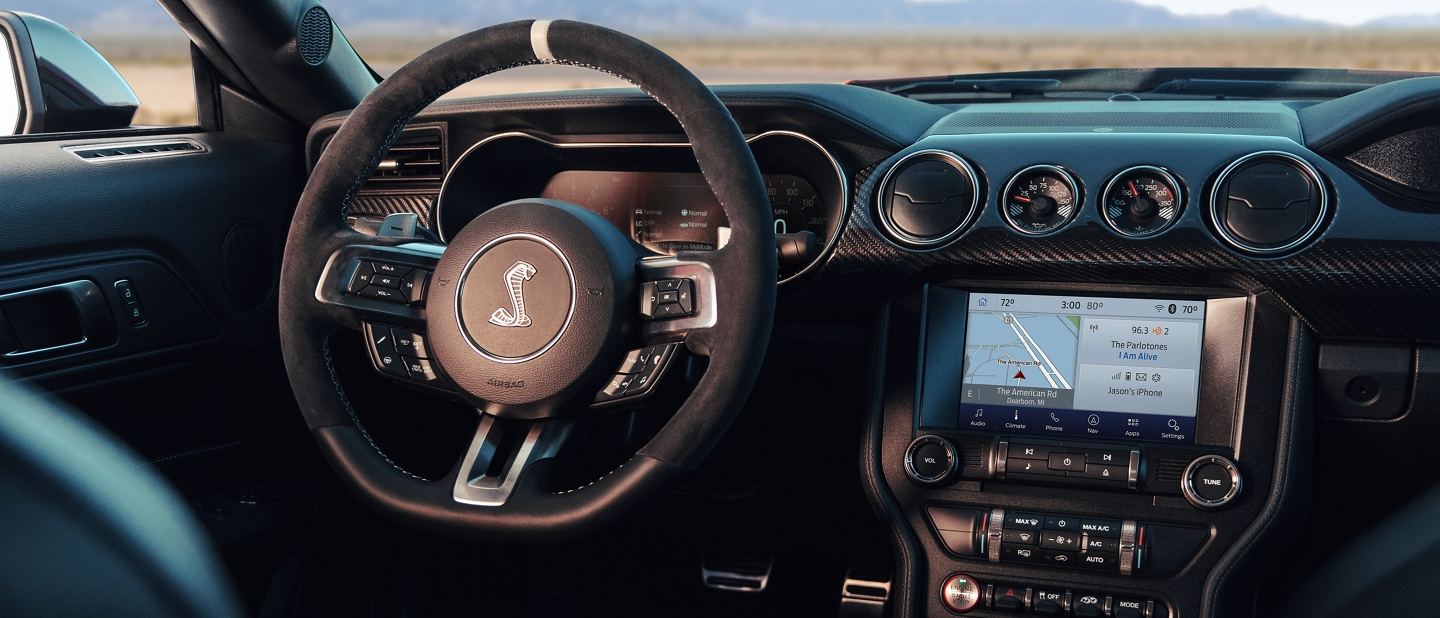 2020 Ford Mustang Shelby G T 500 interior