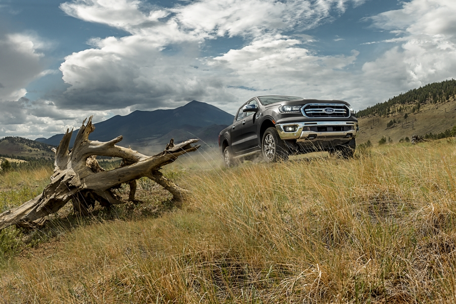 2019 Ford Ranger on open grassy field