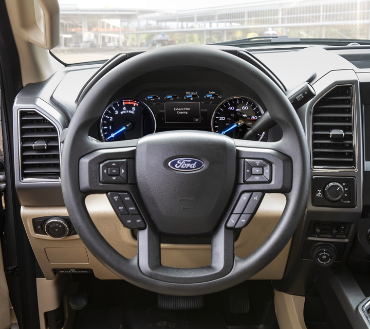 2020 Ford Super Duty X L T Interior in Medium Light Camel