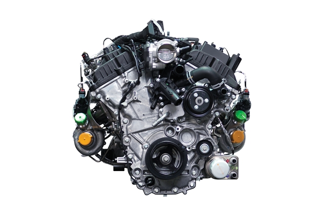 Image of the three point five litre EcoBoost engine