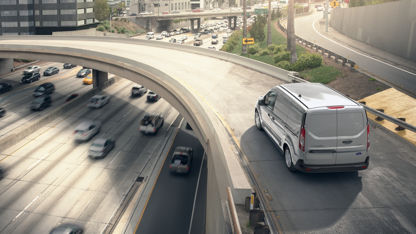 2020 Ford Transit Connect Cargo Van in Silver