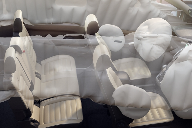 A representation of the Safety Canopy on the 2020 Ford Transit Connect Cargo Van