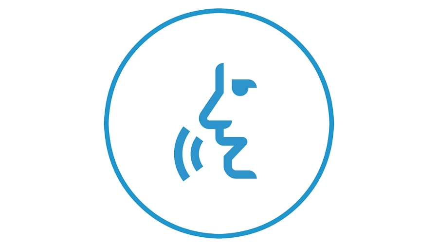 Connected voice icon