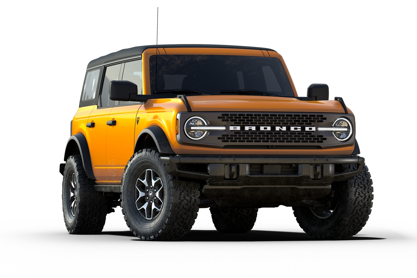 2021 Ford Bronco Badlands model