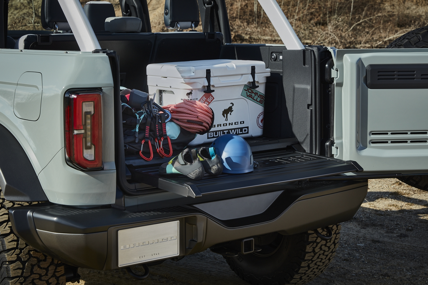 2021 Bronco Trunk space
