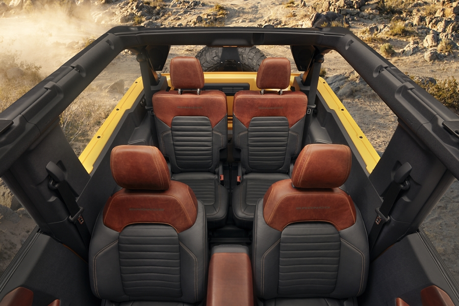 2021 Ford Bronco Seating in Bedford, VA