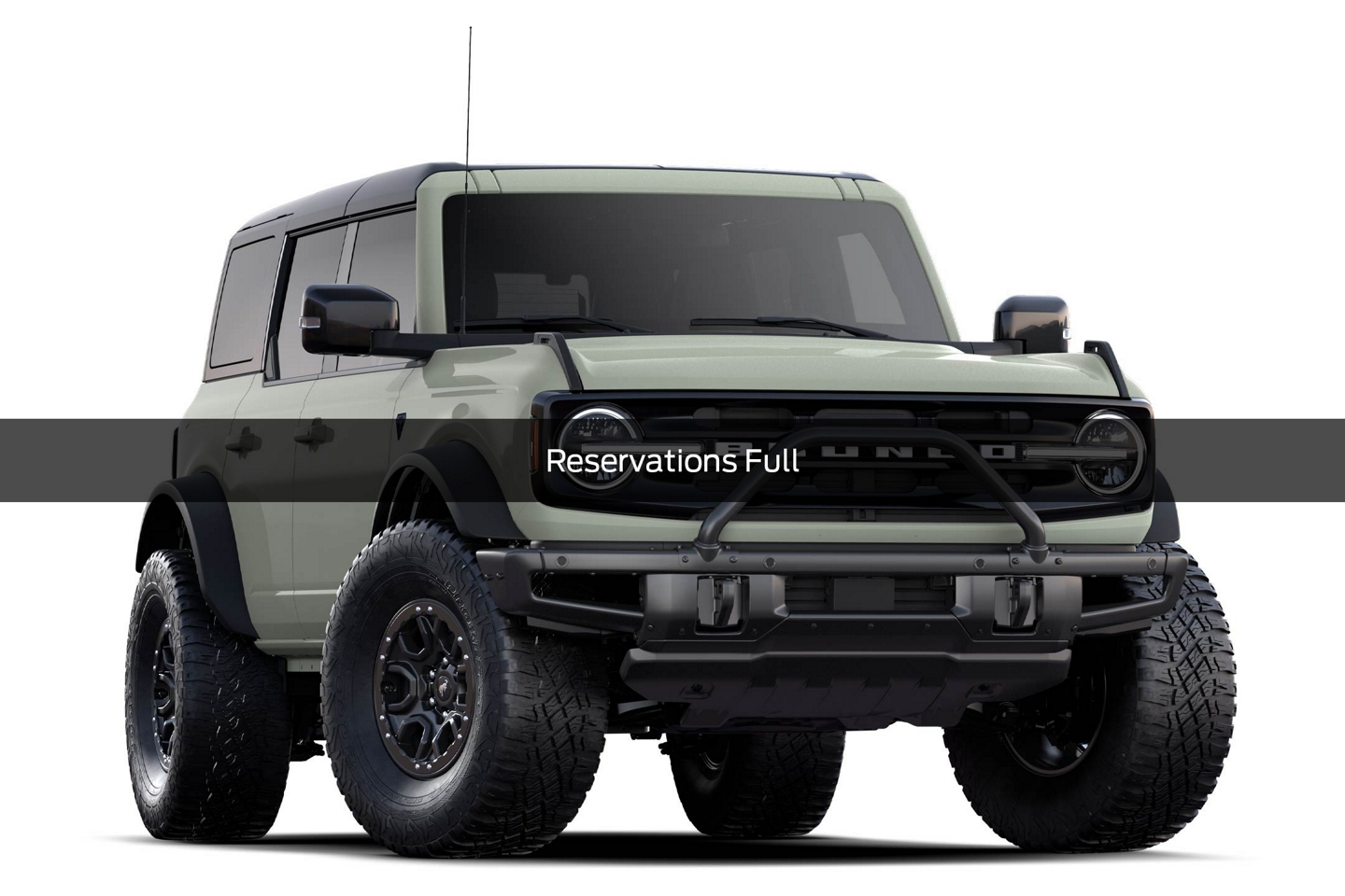 2021 Ford Bronco First Edition Model