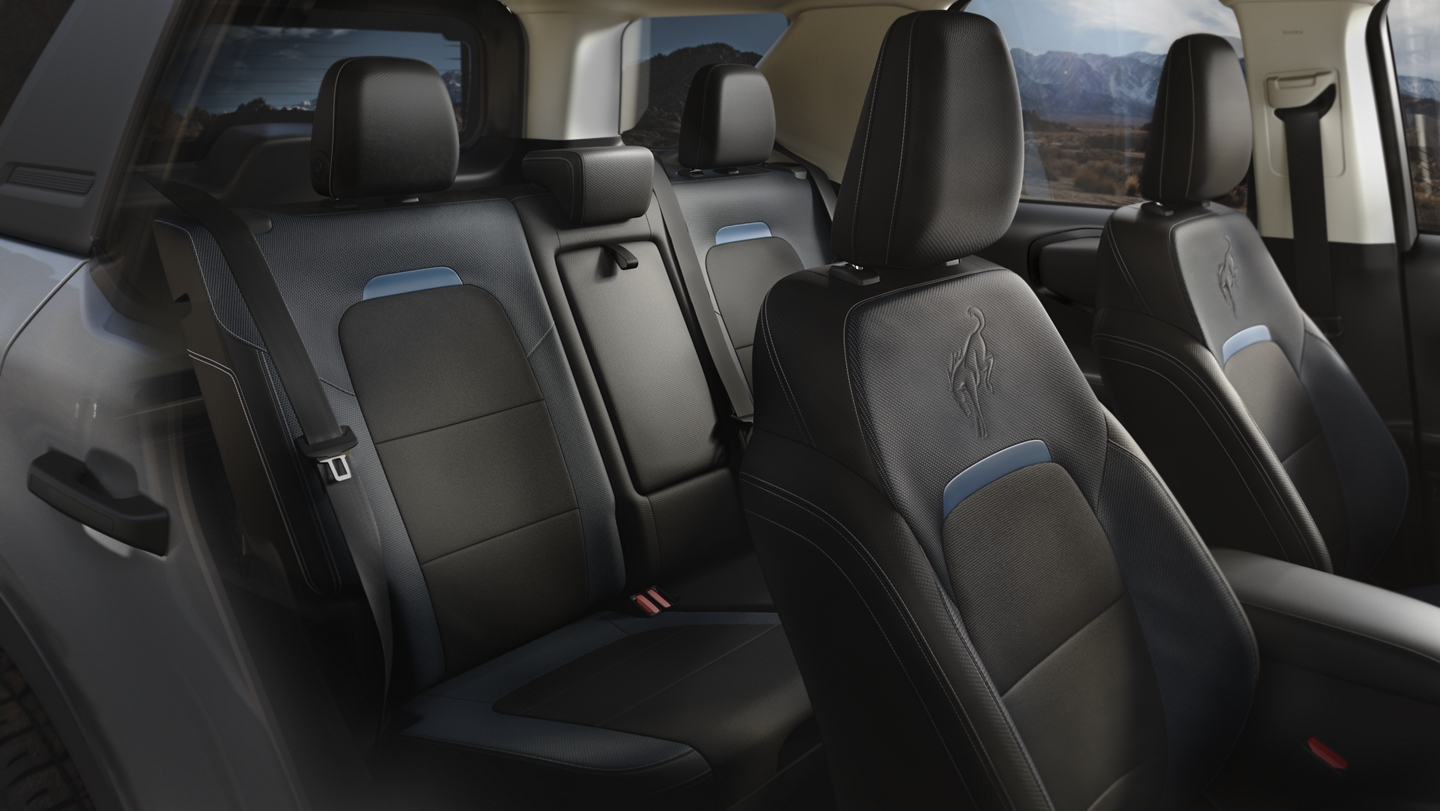 2021 Ford Bronco Sport cloth interior