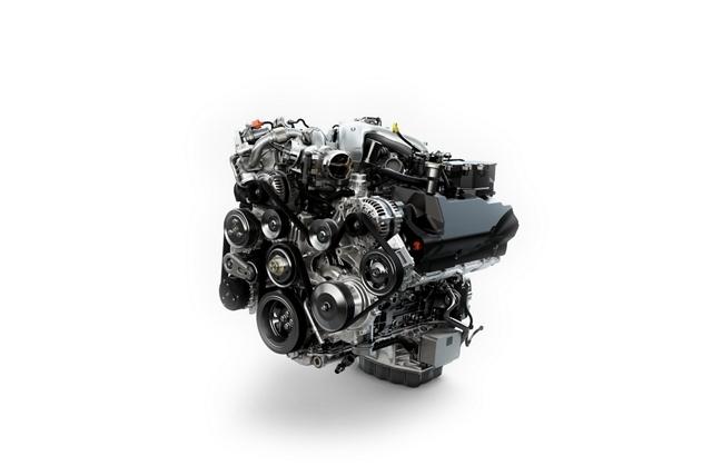 Motor Power Stroke V 8 Turbodiésel de6.7 litros