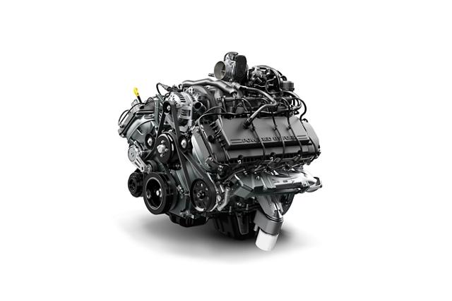 Motor V8 de Combustible Flexible de 6.2 litros