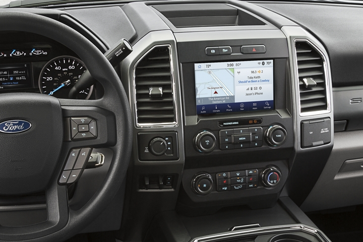 Ergonomic 2020 Ford Super Duty Limited Instrument Panel