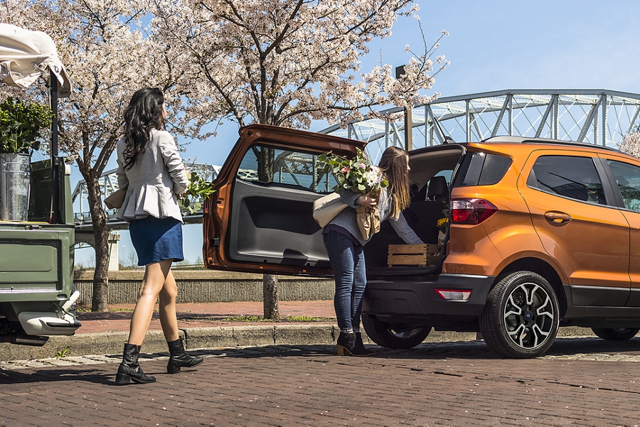 2019 Ford EcoSport with rear swing gate
