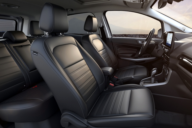 2020 Ford EcoSport with Ebony leather trimmed seating