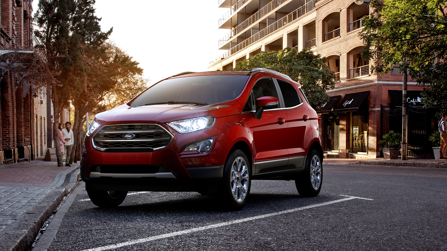 2020 Ford Ecosport Compact Suv Style Features