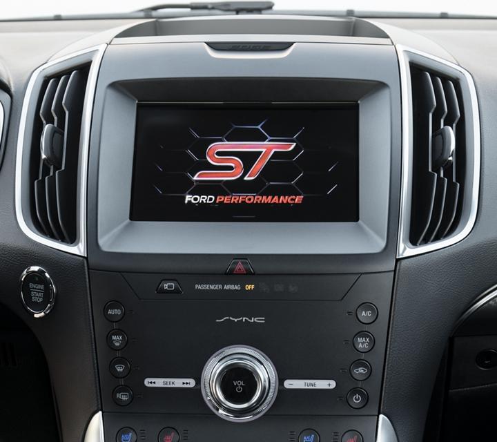 Consola Central de la Ford Edge S T 2020