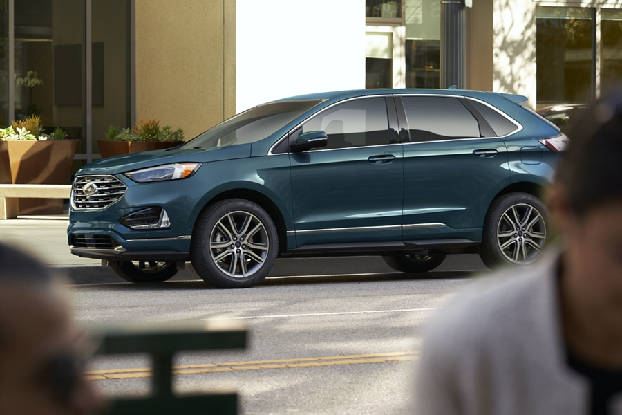 2020 Ford Edge Titanium Review.2020 Ford Edge Suv Features Ford Com