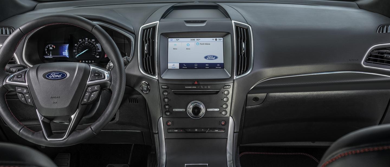 Interior Delantero de la Ford Edge S T Line 2020