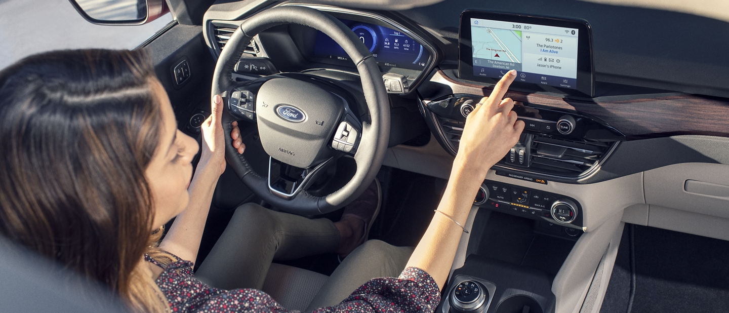 Available SYNC 3 technology helps you enjoy the drive