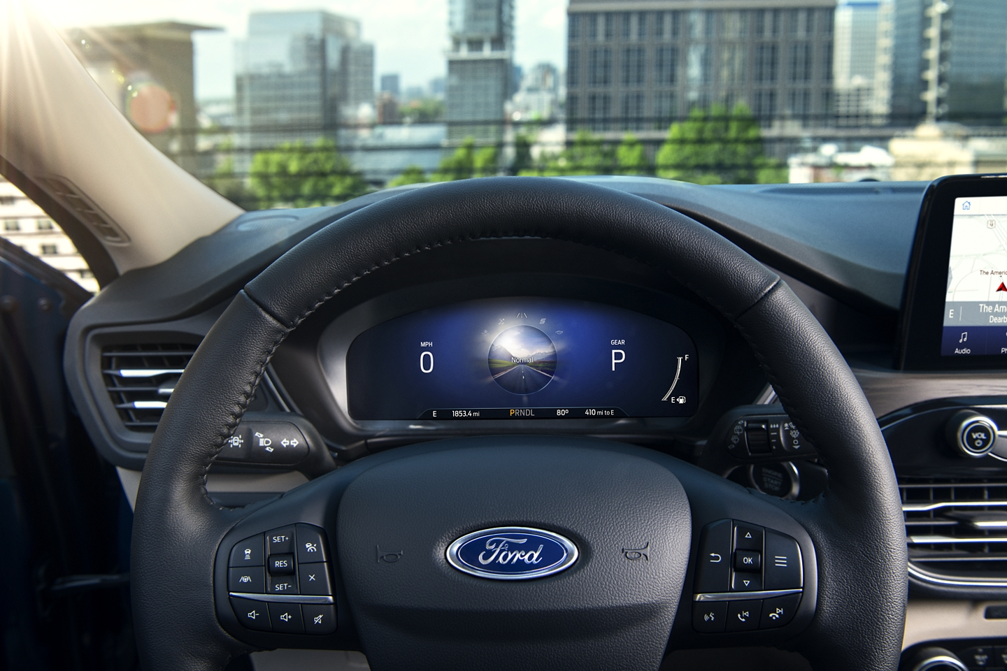 Ford Escape 2020 dashboard