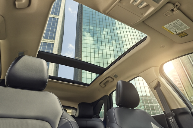 2020 Ford Escape showing available panoramic Vista Roof