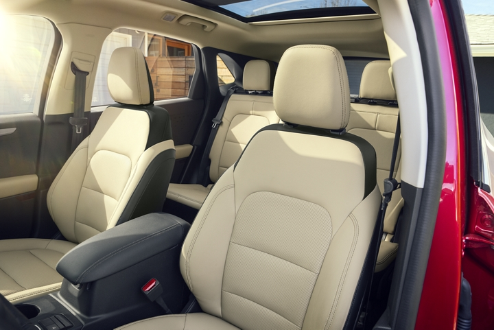 2020 Ford Escape interior in Sandstone