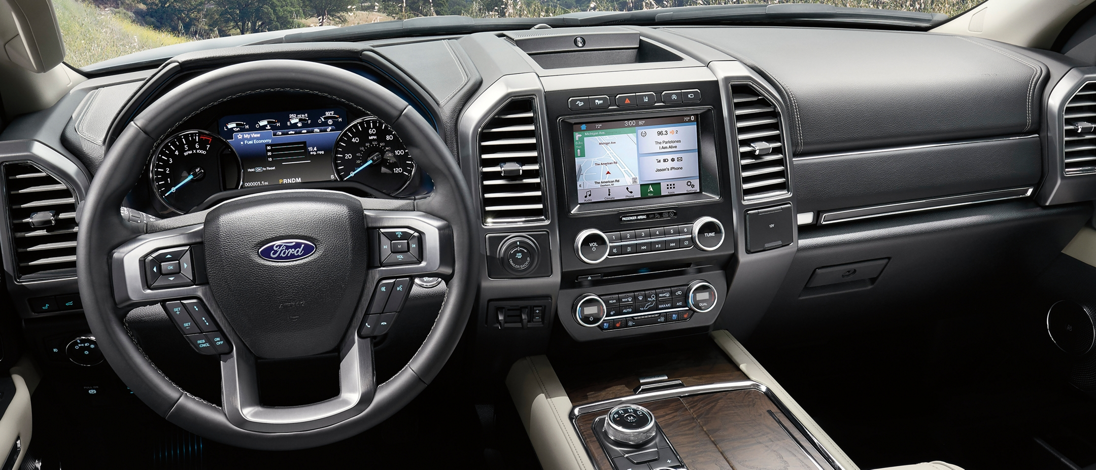 2019 Ford Expedition with Ford plus Alexa