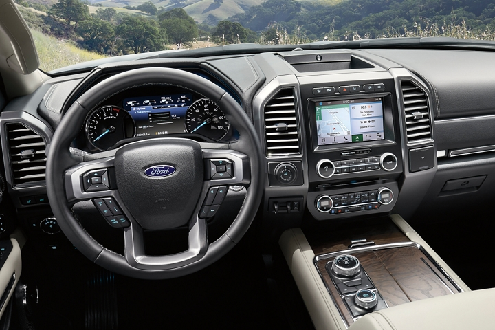2019 Expedition with available voice activated touchscreen