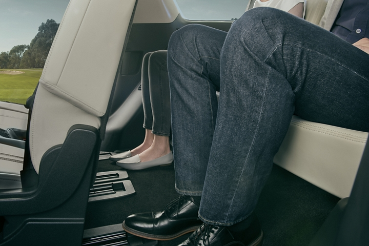 Impressive leg room on the 2020 Ford Expedition
