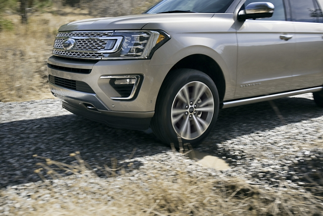 2020 Ford Expedition Platinum with available continuously controlled damping