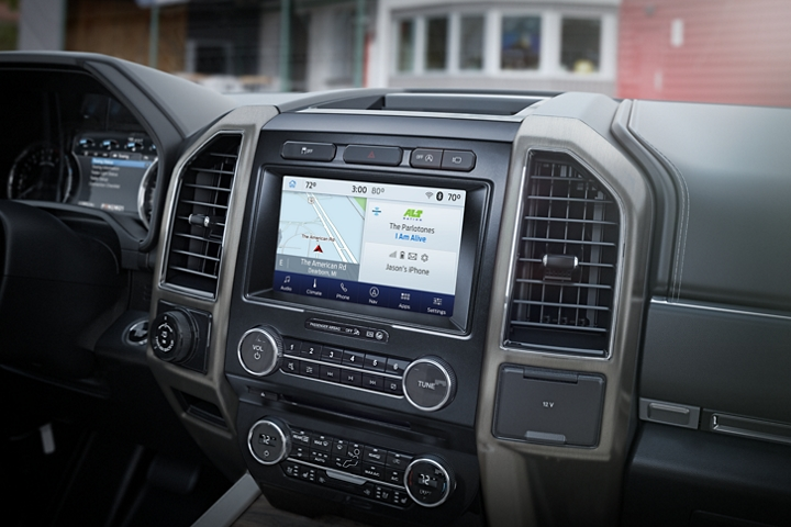 2020 Ford Expedition Platinum roomy interior