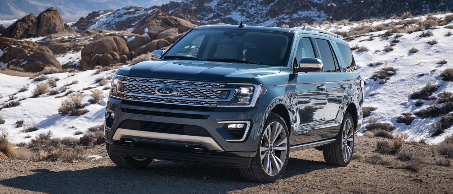 La Ford Expedition Platinum 2020 con suspensión independiente delantera y trasera
