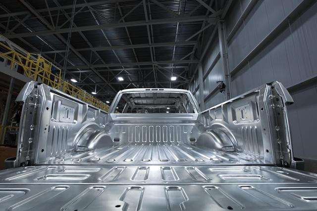 Carrocería de aleación de aluminio de alta resistencia y grado militar
