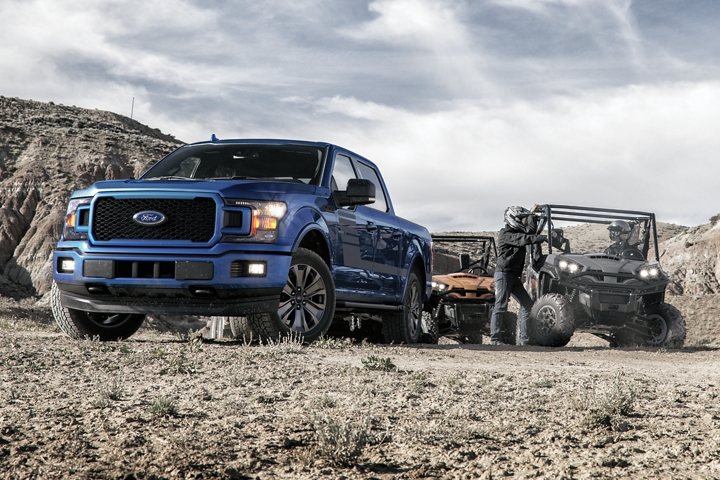 2020 Ford F 1 50 X L T SuperCrew with recreational vehicle