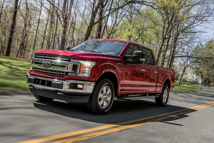 2020 Ford F 1 50 X L T on country road