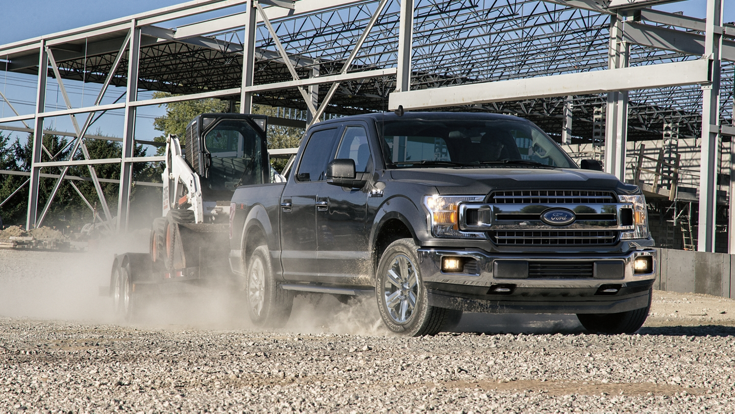 2020 Ford F 1 50 on worksite