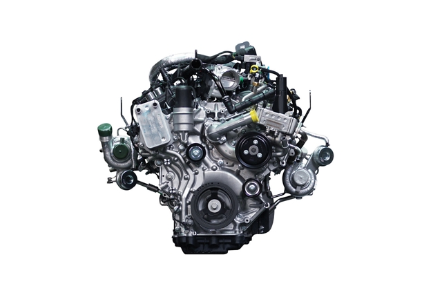 Motor EcoBoost turbocargado de 2.7 litros