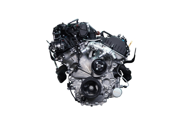 3 point 3 liter naturally aspirated V6 engine