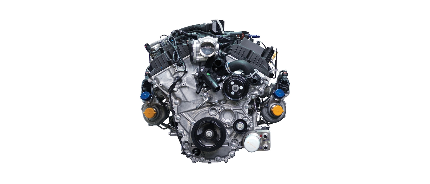 3 point 5 liter high output turbocharged EcoBoost engine
